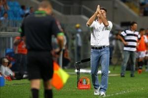 Relação de amor e ódio com o técnico (Foto de Lucas Uebel/Divulgação/Grêmio)